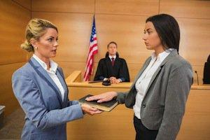 Hinsdale divorce lawyer, testify in a divorce case